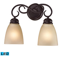 Chatham LED 14 inch Oil Rubbed Bronze Vanity Wall Light
