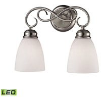 Chatham LED 14 inch Brushed Nickel Vanity Wall Light