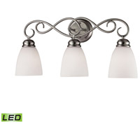 Chatham LED 23 inch Brushed Nickel Vanity Wall Light