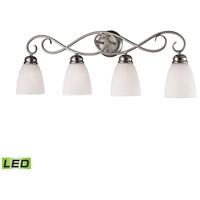 Chatham LED 32 inch Brushed Nickel Vanity Wall Light