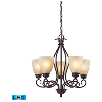 Chatham LED 22 inch Oil Rubbed Bronze Chandelier Ceiling Light