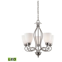 Chatham LED 22 inch Brushed Nickel Chandelier Ceiling Light