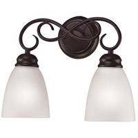 Chatham 2 Light 14 inch Oil Rubbed Bronze Vanity Wall Light