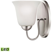 Conway LED 6 inch Brushed Nickel Vanity Wall Light