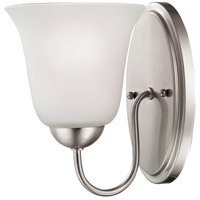 Conway 1 Light 6 inch Brushed Nickel Vanity Wall Light