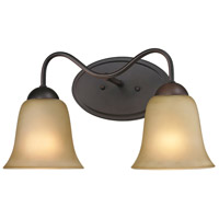 Conway 2 Light 15 inch Oil Rubbed Bronze Vanity Wall Light