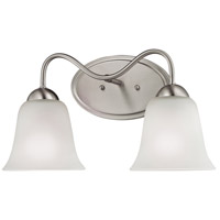 Conway 2 Light 15 inch Brushed Nickel Vanity Wall Light
