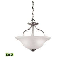 Conway LED 15 inch Brushed Nickel Semi Flush Mount Ceiling Light