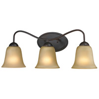 Conway 3 Light 23 inch Oil Rubbed Bronze Vanity Wall Light