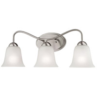 Conway 3 Light 23 inch Brushed Nickel Vanity Wall Light