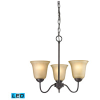 Conway LED 19 inch Oil Rubbed Bronze Chandelier Ceiling Light