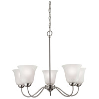 Conway 5 Light 26 inch Brushed Nickel Chandelier Ceiling Light