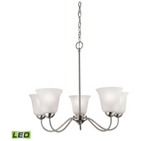 Conway LED 26 inch Brushed Nickel Chandelier Ceiling Light