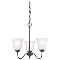 Conway 3 Light 19 inch Oil Rubbed Bronze Chandelier Ceiling Light