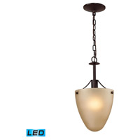 Jackson LED 9 inch Oil Rubbed Bronze Semi Flush Mount Ceiling Light