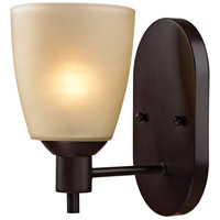 Jackson 1 Light 5 inch Oil Rubbed Bronze Wall Sconce Wall Light