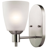 Jackson 1 Light 5 inch Brushed Nickel Wall Sconce Wall Light