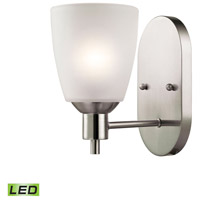 Jackson LED 5 inch Brushed Nickel Wall Sconce Wall Light