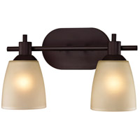 Jackson 2 Light 14 inch Oil Rubbed Bronze Vanity Wall Light
