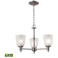 Jackson LED 20 inch Brushed Nickel Chandelier Ceiling Light