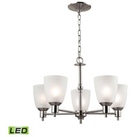 Jackson LED 22 inch Brushed Nickel Chandelier Ceiling Light