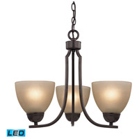 Kingston LED 19 inch Oil Rubbed Bronze Chandelier Ceiling Light