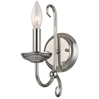 Williamsport 1 Light 5 inch Brushed Nickel Wall Sconce Wall Light