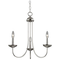 Thomas Lighting 1533CH/20 Williamsport 3 Light 20 inch Brushed Nickel Chandelier Ceiling Light