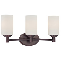 Pittman 3 Light 19 inch Sienna Bronze Wall Sconce Wall Light