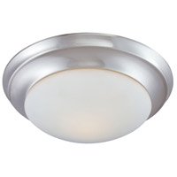 Thomas Lighting 190035217 Fluor 2 Light 14 inch Brushed Nickel Flush Mount Ceiling Light