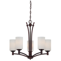 Pittman 5 Light 24 inch Sienna Bronze Chandelier Ceiling Light