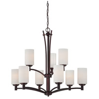 Pittman 9 Light 31 inch Sienna Bronze Chandelier Ceiling Light