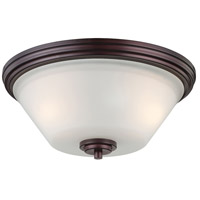 Thomas Lighting 190071719 Pittman 2 Light 14 inch Sienna Bronze Flush Mount Ceiling Light
