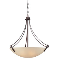 Thomas Lighting 190112704 Wright 4 Light 27 inch Espresso Pendant Ceiling Light