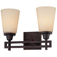 Wright 2 Light 14 inch Espresso Wall Sconce Wall Light