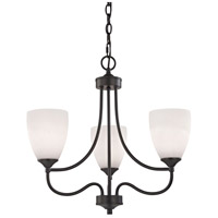 Thomas Lighting 2003CH/10 Arlington 3 Light 22 inch Oil Rubbed Bronze Chandelier Ceiling Light