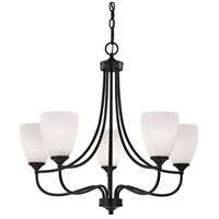 Thomas Lighting 2005CH/10 Arlington 5 Light 27 inch Oil Rubbed Bronze Chandelier Ceiling Light