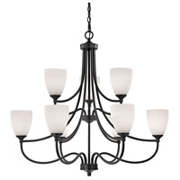 Thomas Lighting 2009CH/10 Arlington 9 Light 36 inch Oil Rubbed Bronze Chandelier Ceiling Light