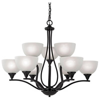 Bristol Lane 9 Light 32 inch Oil Rubbed Bronze Chandelier Ceiling Light