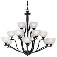 Thomas Lighting 2115CH/10 Bristol Lane 15 Light 45 inch Oil Rubbed Bronze Chandelier Ceiling Light