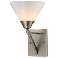 Tribecca 1 Light 8 inch Brushed Nickel Wall Sconce Wall Light