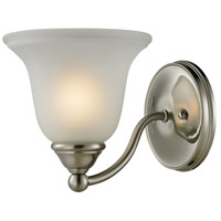 Shelburne 1 Light 8 inch Brushed Nickel Vanity Wall Light