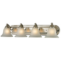 Shelburne 4 Light 33 inch Brushed Nickel Vanity Wall Light