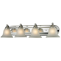 Shelburne 4 Light 33 inch Chrome Vanity Wall Light