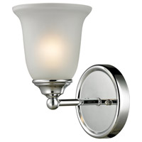 Sudbury 1 Light 6 inch Chrome Vanity Wall Light