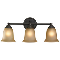 Sudbury 3 Light 23 inch Oil Rubbed Bronze Vanity Wall Light