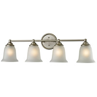 Sudbury 4 Light 32 inch Brushed Nickel Vanity Wall Light