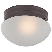 Thomas Lighting 7021FM/10 Flushmounts 1 Light 8 inch Oil Rubbed Bronze Flush Mount Ceiling Light