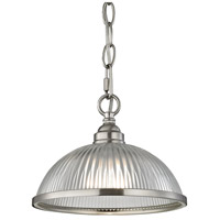 Thomas Lighting 7661PS/20 Liberty Park 1 Light 9 inch Brushed Nickel Flush Mount Ceiling Light
