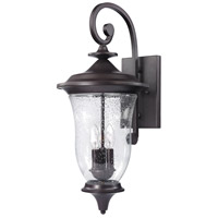 Trinity 3 Light 26 inch Oil Rubbed Bronze Outdoor Wall Sconce